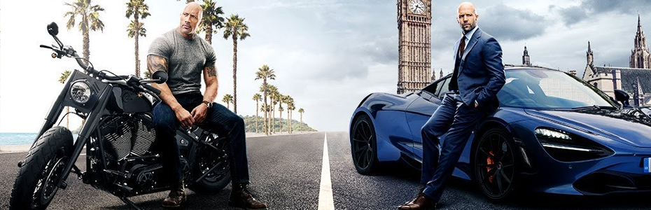 REVIEW: Hobbs and Shaw is exactly the hyper-masculine anti-heroes vs. cyborgs action/buddy comedy cartoon of a film you never knew you needed.