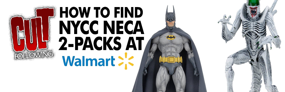 NEWS:  How to Find the NECA DC Comics #NYCC Exclusive Action Figure 2 Packs at Walmart!