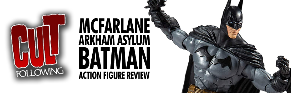COLLECTIBLES: McFarlane Toys DC Universe Arkham Asylum Batman Action Figure Review Unboxing & Comparison