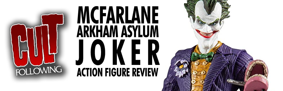COLLECTIBLES: McFarlane Toys DC Universe Arkham Asylum Joker Action Figure Review Unboxing & Comparison